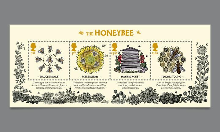 Honeybee Stamps